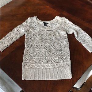 White House Black Market Women's XS Sweater